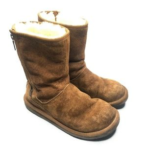 UGG Australia Genuine Sheep Skin Lined Leather